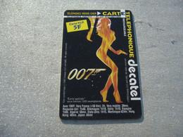 PRE PAYEE  DECATEL   /    JAMES BOND GIRL  / SERIE V I P  / 1500 EX  / RARE - Prepaid-Telefonkarten: Andere