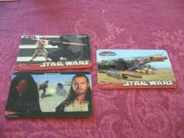 PRE PAYEE  KERTEL /   STAR WARS   X 3  / - Prepaid-Telefonkarten: Andere