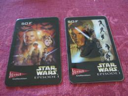 PRE PAYEE  KERTEL /   STAR WARS   X 2   DONT UNE NEUVE ET NON GRATTEE - Prepaid-Telefonkarten: Andere