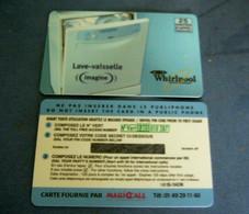 PRE PAYEE  Intercall /   WHIRPOOL  / NEUVE ET NON GRATTEE  RARE - Prepaid-Telefonkarten: Andere