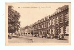 ATH : Rue Defacqz : L'Esplanade Et La Clinique Maternité, Circulée - Edition Belge, Bruxelles - 2 Scans - Ath