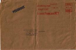 1952 - Empreinte Machine HAVAS Type K - La Circulation Routière Activité Française N°1 - Tarif PERIODIQUE - Affrancature Meccaniche Rosse (EMA)