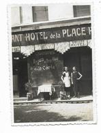 84-AVIGNON-Place Pie, Restaurant-Hôtel De La Place PIE à Côté Magasin Cycles Jules De Winter...09.1936  (7 Photos 6x9) - Avignon