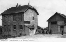 """BESANCON. Les Gares Du Funiculaire - Série """"Besançon Pittoresque"""". Circulée. Bon état. - Besancon"""