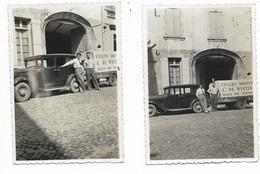 84-AVIGNON-Domicile Famille De Winter Avec Leurs Voitures...1936  (11 Photos 6x9) - Avignon