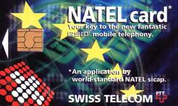 SWISS TELECOM - NATEL Card - Carte à Puce SCHLUMBERGER - Schweiz