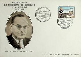 1969 Moçambique Viagem Do Presidente Do Conselho Marcello Caetano - Sonstige