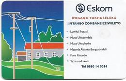 S. Africa - MTN - Eskom, Dangers Of Electricity - Eskom #1, 2003, SC8, 15R, 100.000ex, Used - South Africa