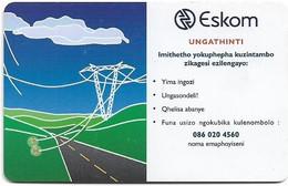 S. Africa - MTN - Eskom, Dangers Of Electricity - Eskom #3, 2003, SC8, 15R, 100.000ex, Used - South Africa