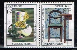 SUEDE/ Obliteres/Used/1994 - Style Suédois / Objets Et Mobiliers - Oblitérés