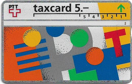 Switzerland - Swisscom (L&G) - V Cards - V-17A - Visuelle PTT - 207E - 07.1992, 5Fr, 45.000ex, Used - Schweiz