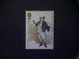 Great Britain, Scott #3038 Used (o), 2012, Mr Pickwick, 2nd, Multicolored - 1952-.... (Elizabeth II)