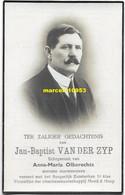 Van Der Zyp Jan-Baptist - Weerde 1880 / Eppegem 1938 - Esquela
