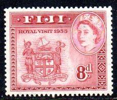 W371 - FIJI 1953 , Royal Visit   ****  MNH - Fiji (...-1970)