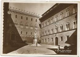 O3932 Siena - Piazza Salimbeni E Monte Dei Paschi / Viaggiata 1936 - Siena