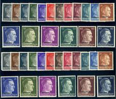 GERMANY OCCUPATION OF OSLAND AND UKRAINE 1941 2 COMPLETE SET MNH ** OFFER! - Occupation 1938-45