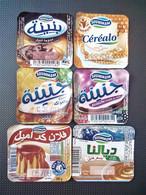 Opercule Cover Yaourt Yogurt D'Algérie Yoghurt Yoghourt Yahourt Yogourt - Coperchietti Di Panna Per Caffè
