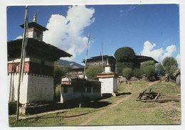 BHUTAN - AK 350810 Bumthang - Stupas In Ugen Choling - Bhutan