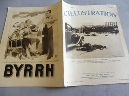 L'ILLUSTRATION 1 AOÛT 1936 -VIMY- GUERRE CIVILE ESPAGNE SANGLANTE BARCELONE SARAGOSSE-DESSINS CONSTRUCTION ARC TRIOMPHE - L'Illustration