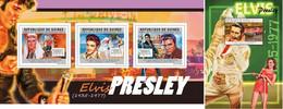 Guinea 2012, Elvis, Cars, 3val In BF+BF - Elvis Presley
