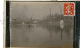 95 - VAL D'OISE - SAINT OUEN L'AUMONE - Inondations - Carte Photo - 1910 - Très Bon état - Saint-Ouen-l'Aumône