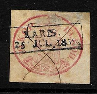 10 K. Rose Obliteration Karls Voir 2 Scan Aminci Yvert Nº 2 Prix Catalogue 2003  1100 Euros - 1856-1917 Russische Verwaltung