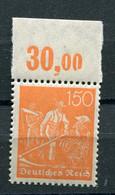 Deutsches Reich - Mi. 169 P OR ** - Neufs