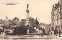 Besançon CLB 82 Fontaine Flore Absinthe Junod Chocolat Jacquemin Les Chaprais - Besancon