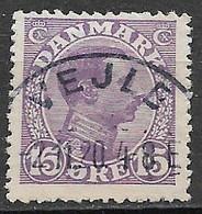 Denmark 1913. Scott #102 (U) King Christian X - Usati