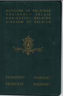Passeport - Royaume De Belgique - Délivré à Schaerbeek Le 22/06/1972  - Timbre - Visas  - 5 Scans - - Historical Documents