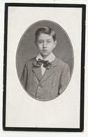 Doodsprentje René Henri Antoine D'Hoine Leerling Handelsschool Antwerpen 1900 - 1915 - Andachtsbilder