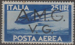 Italia 1946 Venezia Giulia AMG-VG Posta Aerea UnN°A6 MNH/** - 7. Triest