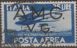 Italia 1946 Venezia Giulia AMG-VG Posta Aerea UnN°A6 (o) - 7. Triest