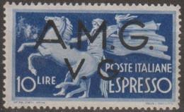 Italia 1946 Venezia Giulia AMG-VG Posta Aerea UnN°A5 MNH/** - 7. Triest