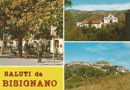(CS) BISIGNANO, MULTIVEDUTA - Cartolina Nuova, Animata, Saluti - Altre Città
