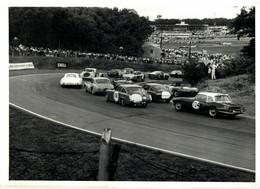 BRANDS HATCH 1965 JAGUAR OF PEARCE   21*16CM MOTOR RACING RACE Car Course D'automobiles - Cars