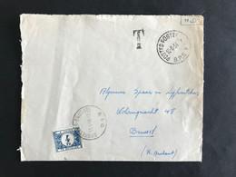 Brief Getaxeerd 4fr OBP TX61 BRUXELLES-BRUSSEL - Postage Due