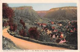 R456083 Environs De Lons Le Saunier. Jura. Les Rochers Et Le Village De Baume Les Messieurs. Cim. Coll. Ternant. Au Pach - Mundo