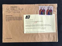 """BRIEF Met Bericht """"INSUFFISAMMENT AFFRANCHI"""" - Postage Due"""