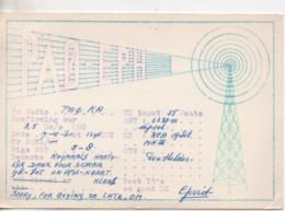 Cpa.Cartes QSL.PAO-EPH.1961.to PAOKA - Radio Amatoriale