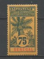 Timbre De Colonie Française Sénégal Neuf * N 43 - Nuovi