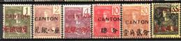 Canton: Yvert N° 33/49*; Le 37(*) - Neufs