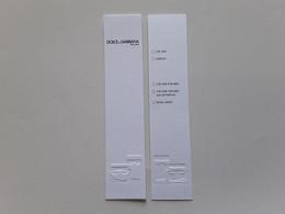 """DOLCE ET GABBANA   """" The One.  Liste 5 Parfums  """"   Carte à Parfumer  !! - Modern (from 1961)"""