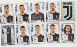 JUVENTUS   # Calcio #  1 Scudetto + 9 Figurine -  Album Panini Calciatori 2019/2020 # Perfettissime  # - Trading Cards