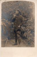 V10Mé  Carte Photo Militaire Soldat à Identifier Chasseur - Uniformen