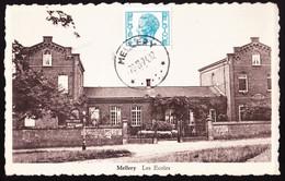 OBL. RELAIS MELLERY SUR CARTE VUE DE MELLERY LE 28- 8 -1974 - Sellos Con Estrellas
