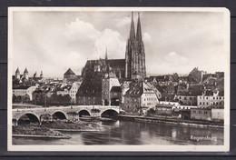 Deutsches Reich - 1941 - Postkarte - Regensburg - Mit Werbestempel - Used Stamps