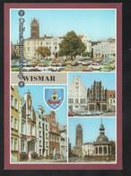 BRD - AK - Wismar - Markt, Wasserkunst, Bohrstr. - Wismar