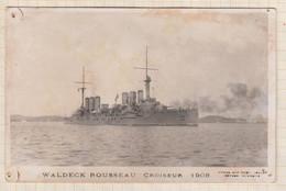 20A1631 WALDECK ROUSSEAU CROISEUR 1908 Trous Punaise - Guerre