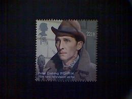 Great Britain, Scott #3159 Used (o), 2013, Peter Cushing, 1st, Multicolored - 1952-.... (Elizabeth II)